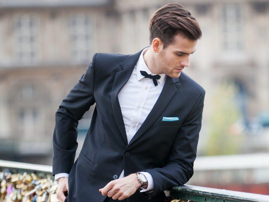 Czarny garnitur ? kiedy i jak go nosić
